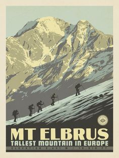 Anderson Design Group – World Travel – 7 Summits: Mt. Elbrus-Tallest Mountain in Europe
