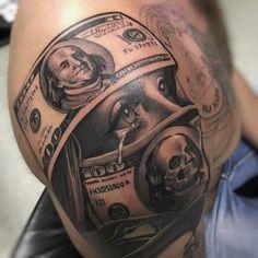einzigartige Geld Tattoo Designs & Bedeutungen – Get It All – Tattoo Ideen Unique Money Tattoo Designs & Meanings – Get It All # Meanings … Gangster Tattoos, Dope Tattoos, Cute Hand Tattoos, Cute Girl Tattoos, Hand Tattoos For Women, Best Sleeve Tattoos, Leg Tattoos, Body Art Tattoos, Tattoos For Guys