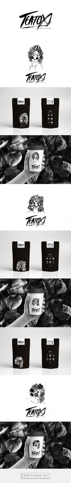 Teatox (Student Project) - Packaging of the World - Creative Package Design Gallery - http://www.packagingoftheworld.com/2016/08/teatox-student-project.html