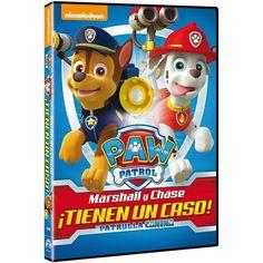 DVD Patrulla canina. Marshall y Chase tienen un caso