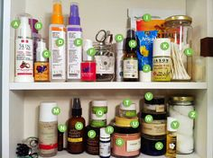 5 Ways to Keep your Natural Beauty Cabinet Stocked from True Beauty by Nature