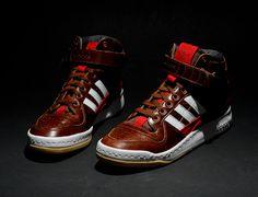 quality design f7e56 033eb Adidas Forum Mid leather version