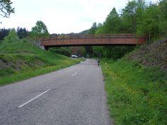 Begin rit klim Kandel, vanuit Waldkirch.  Voet: 280 m    Top: 1205 m  Gemiddelde helling: 7.8% Lengte: 11.9 km