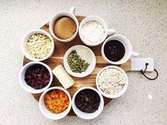 Healthy homemade muesli bar slice recipe Healthy Muesli Bar Recipe, Homemade Muesli Bars, Healthy Granola Bars, Healthy Cooking, Cooking Recipes, Cooking Ideas, Muesli Slice, Donna Hay Recipes, Prepped Lunches