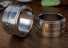 Ring Clock Puts A Watch On Your Finger Bling