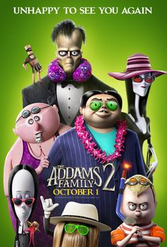 Click to View Extra Large Poster Image for The Addams Family 2 Oscar Isaac, Snoop Dogg, Family Movies, New Movies, Movies Online, Charlize Theron, New Trailers, Movie Trailers, Big Bang Theory
