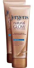 Jergens® natural GLOW™ Firming Daily Moisturizer, my favorite of all the ones I've tried.