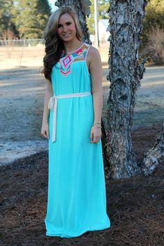 Spring Forward Maxi Dress