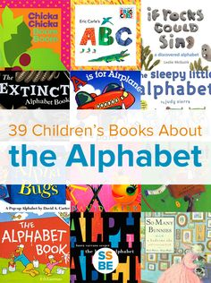 Reading about the alphabet is one of the best ways to introduce your kids to letters and learning to read. Here is the ultimate list of children's books all about the alphabet.                                                                                                                                                                                 More