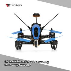 Original Walkera F210 3D Edition 5.8G FPV Racing Drone RTF with 700TVL Camera OSD DEV0 7 Transmitter
