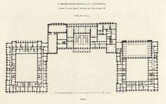 Palace Of Versailles Floor Plan Plan Of Palace Of