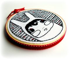 embroidery #embroideryhoop #hoopart