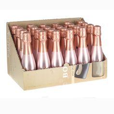 Bottega Rose Gold Spumante Sparkling Wine Miniature (200ml) - 24 Pack