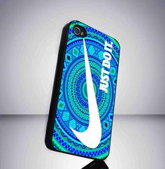 Nike Just Do It Aztec Pattern Custom iPhone case for iPhone 4 case, iPhone 5 case, and Sasmung galaxy s3 and Samsung Galaxy s4