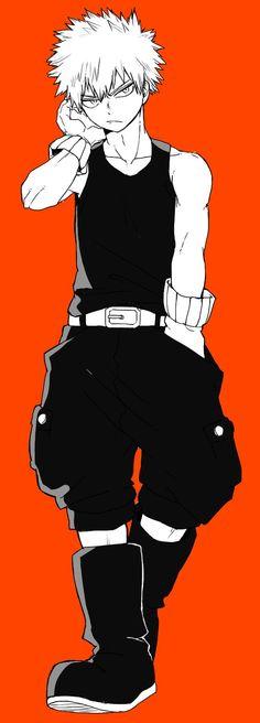 Boku no Hero Academia || Katsuki Bakugou: