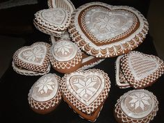 Hungarian heart cookies