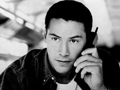 Keanu Reeves because he was gorgeous in Speed!