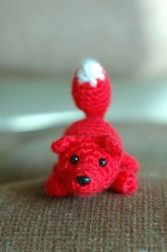 Little Fox free crochet pattern by S. J. Montgomery