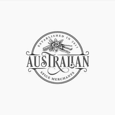 Australian Spice Merchants Logo Design by Ceren Burcu Turkan | Fivestar Branding Agency – Design and Branding Agency & Curated Inspiration Gallery  #logo #logodesign #logoinspirations #logotype #typography #design #behance #dribbble #pinterest