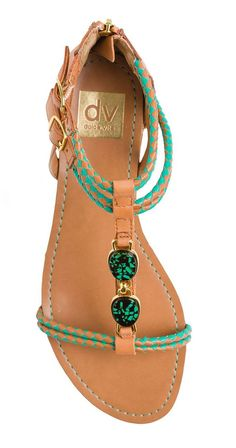 Leather Braided Sandals ♥ L.O.V.E.
