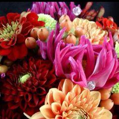 Bright summery bouquet