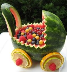 Watermelon Baby Carriage by jacquelyn