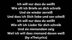 SDP feat. Adel Tawil - Ich will nur dass du weißt [Lyrics] HD