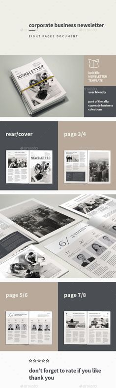 Corporate Business Newsletter Template #design Download: http://graphicriver.net/item/corporate-business-newsletter/11111495?ref=ksioks