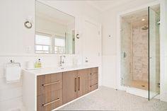 Vanity.  Hampton House - modern - bathroom - new york - M.S. Architecture