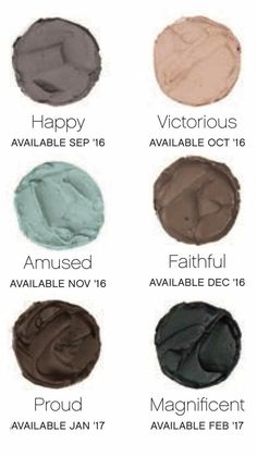 #amazing new #splurge colors! Loving these for #fall #matte #eyes #makeup #eyeshadow