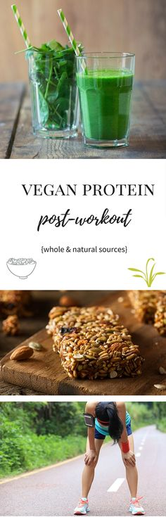 When you #exercise, your body needs an increased amount of #protein. It's not necessarily harder for a #vegan to get a sufficient amount, you just need to know where to look for it. Here are the 8 best whole food sources!