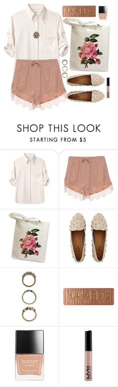 """Secret Garden"" by wildfawn ❤ liked on Polyvore featuring rag & bone, Forever 21, Urban Decay, Butter London and House of Harlow 1960"