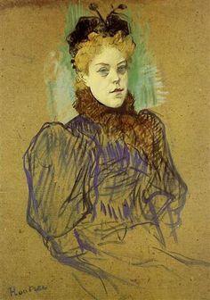 May Milton - Henri de Toulouse-Lautrec