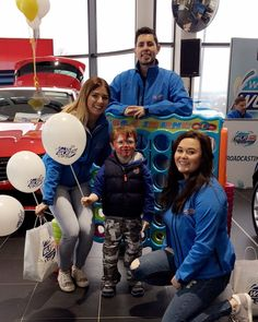 We're at #HandHMotors for the launch of the new Renault Megane Coupé  @thehappypear are here and there's loaaaadssss of prizes to be given away! #Renault #Waterford #WLRFM