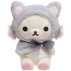 New! Korilakkuma Cat Plush Doll M San-X Rilakkuma Japan F/S #SanX