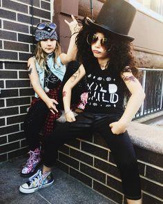 Guns N Roses Axl & Slash Costume by Fab Philly Mom by Sari Marissa