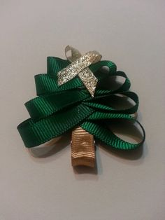 #Christmas #Tree #HairClip