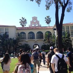 @itspipertime  Just another beautiful day at #SDSU