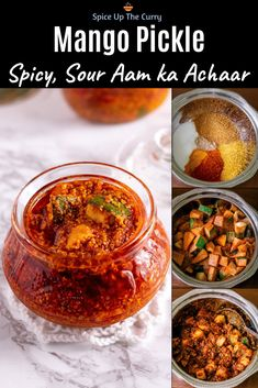 It's summer and it's pickle season! Make your own homemade mango pickle with this easy recipe! This is Gujarati Methia Keri nu khatu athanu. Indian Pickle Recipe, Pickle Mango Recipe, Mango Recipes Indian, Indian Food Recipes, Veg Recipes, Cooking Recipes, Cooking Stuff, Curry Recipes, Vegetarian Recipes