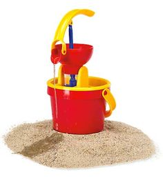 """Water Bucket With Kid Powered Pumping System $14.98 height:11.25"""" Now, explaining about pressure and suction...?  Hoorah for the internet!"""