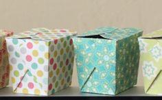Cajas de comida china para imprimir y armar.