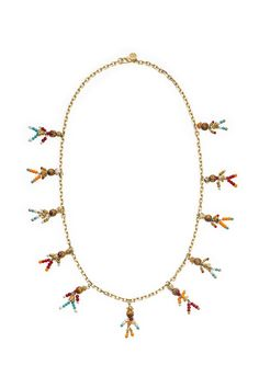 Beaded Tassel Rosary Necklace, $195; toryburch.com