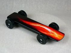 Super Fast Bsa Pinewood Derby Car Re Entry By 5oz Racing