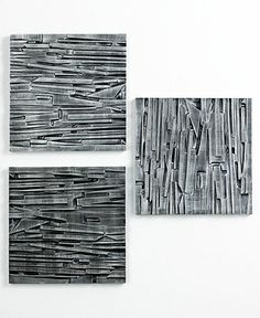 Umbra Wall Decor, Set of 3 Tali Panels - Home Decor - for the home - Macy's