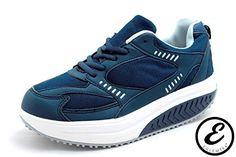 cool EGLEMTEK - Zapatillas de gimnasia para mujer