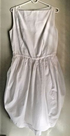 23a172ab67 Vivienne Westwood Anglomania White Dress Size US 8, UK 12, IT 44 (ORP  +$500) #VivienneWestwood #FitFlareDress