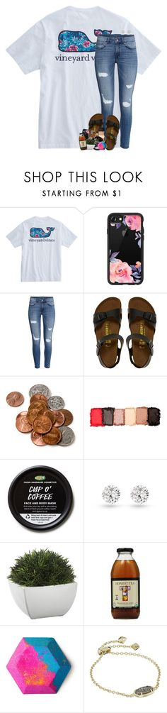 """we have to accept the things we cannot control"" by theblonde07 ❤ liked on Polyvore featuring Casetify, H&M, Birkenstock, NYX, Crate and Barrel and Kendra Scott"