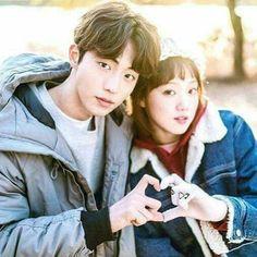 Even if we are miles apart, I will still love you from afar. Nam Joo Hyuk Lee Sung Kyung, Jong Hyuk, Hyun Jae, Weightlifting Kim Bok Joo, Weightlifting Fairy, Korean Celebrities, Korean Actors, Weighlifting Fairy Kim Bok Joo, Joon Hyung