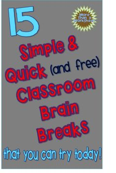 brain break pin