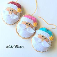 PDF Felt Christmas Ornaments/Felt Christmas Decorations-Felt
